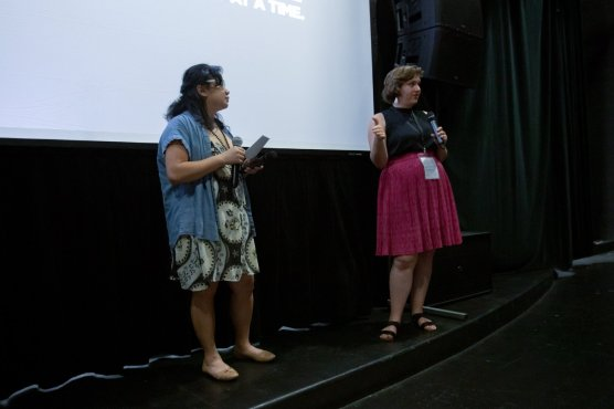 The Chunta director Genevieve Roudané at Outfest LGBTQ Film Festival