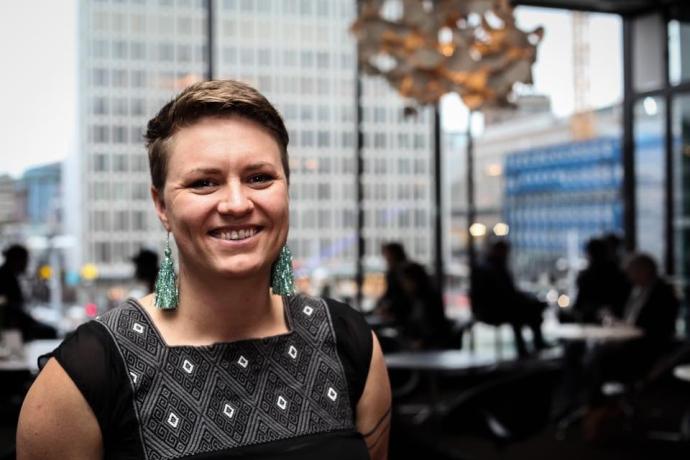 Director Genevieve Roudané