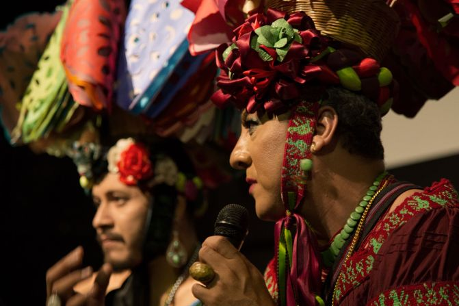 """""""There's a cost for the Chuntas going against gender roles and machismo, and coming out as homosexual.People don't like it because it makes them uncomfortable. Traditional celebrations like the Fiesta Grande can help us to raise consciousness about this."""" – José Eliezer Esponda Cáceres"""